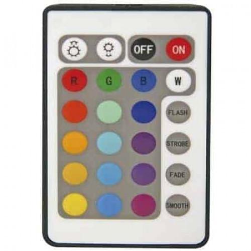 RGB spot 6w met remote