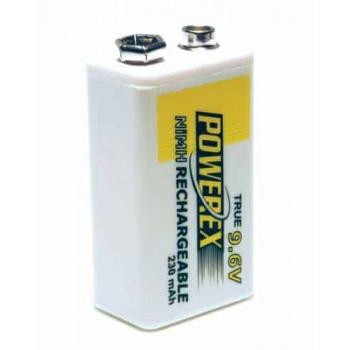 Herlaadbare 9V-batterij (E-Block) - 9V 230mAh - NiMH - 1 stuk