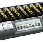 Professionele batterijlader met 8 onafhankelijke laadstations