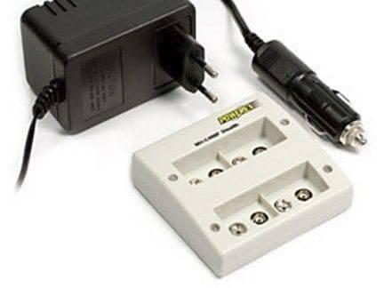 Professionele batterijlader om 4 x 9V batterij te laden