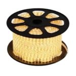 LED strip 230V per m warm-wit 5050 IP68