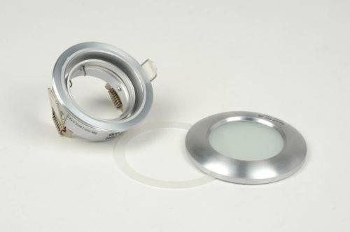 IP65 kantelbare LED inbouwspot geschuurd aluminium