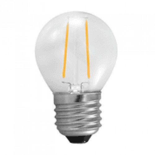 E27 LED filament bollamp 2W - 25W