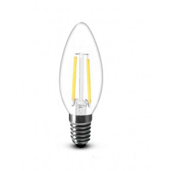 E14 LED kaars 2W-25W 2700k warm-wit