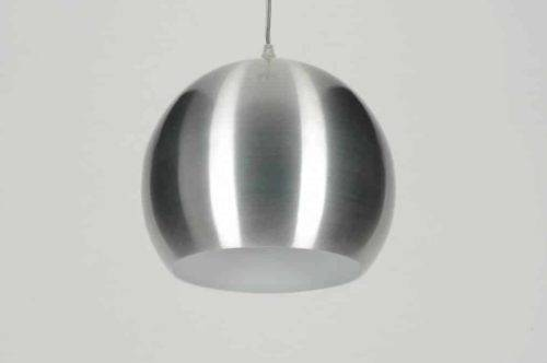 Geschuurd aluminium LED retrobol 5W-50W warm-wit
