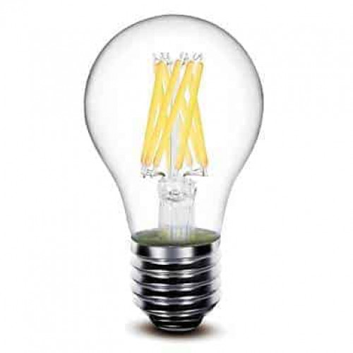 E27 filament LED lamp 8W dimbaar