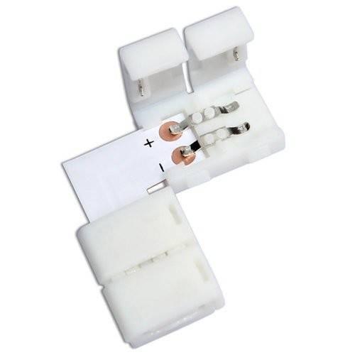 LED strip connector 90° 1 kleur