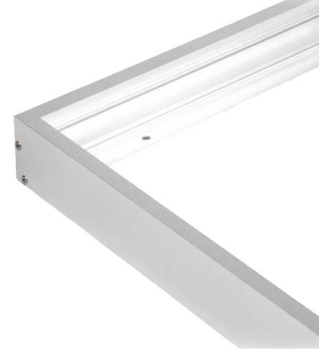 Led paneel 120x30 opbouw aluminium opbouw frame