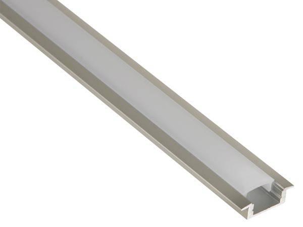 Aluminium Profiel Laag model - smal + cover