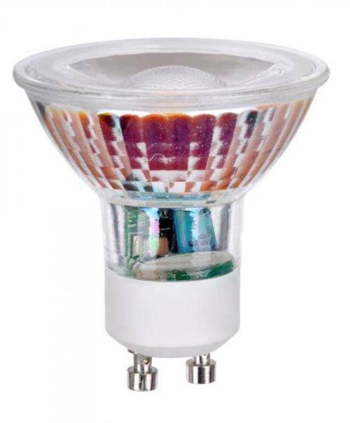 GU10 5W Glas LED spot 2700k